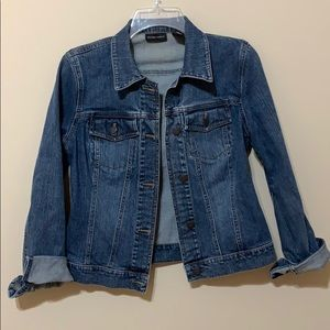 New York & company denim jacket
